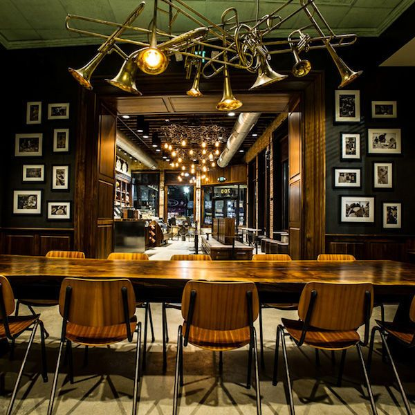 Apothecary-Inspired Coffee Shops - The New Orleans Starbucks Looks Like an Old-Fashioned Pharmacy (GALLERY)