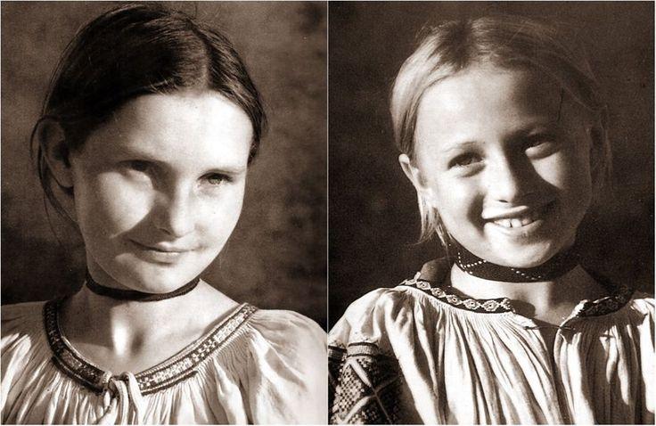 Dievky z Polomky, r.1947 - autor Karol Plicka