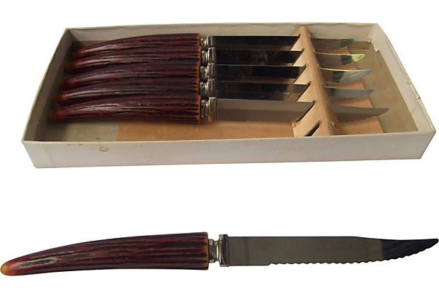 Sheffield Steak Knives, Set of 6 on OneKingsLane.com