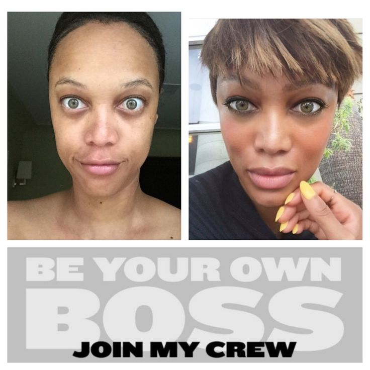 Tyra Banks makeup line is everything! It is so simple and flawless and keeps your