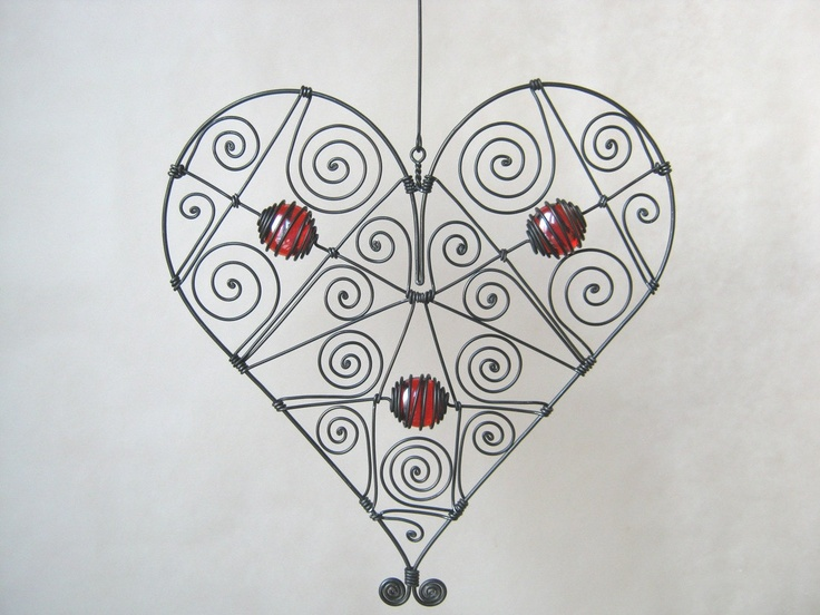 Would be a pretty valentine decoration.