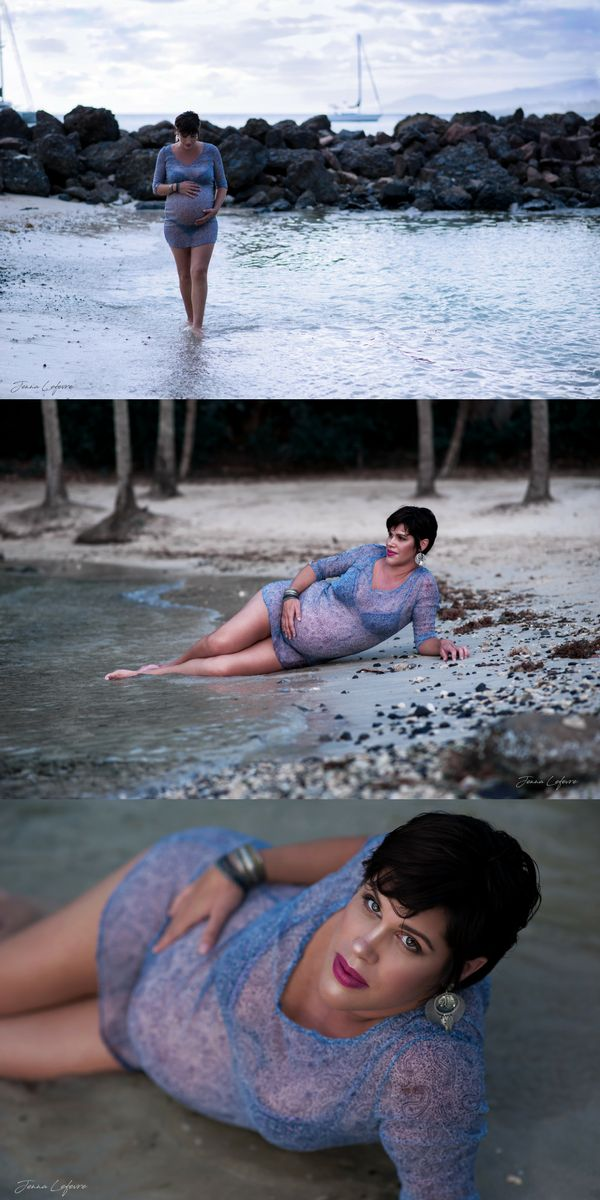 [Visitez mon site jennalefevre.com] Séance photo grossesse dans les Caraïbes, sur la plage. Photographe spécialisée en portraits de femmes. Make-up. Disponible en Martinique. #jennalefevre #makeup #pregnancy #shooting #martinique