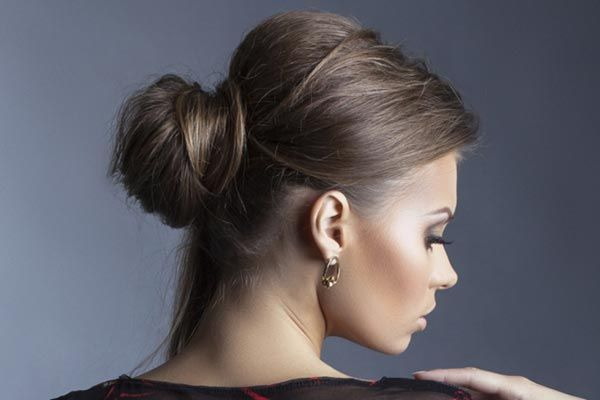 Easy, Breezy, Beautiful Buns Are Perfect For Work Or