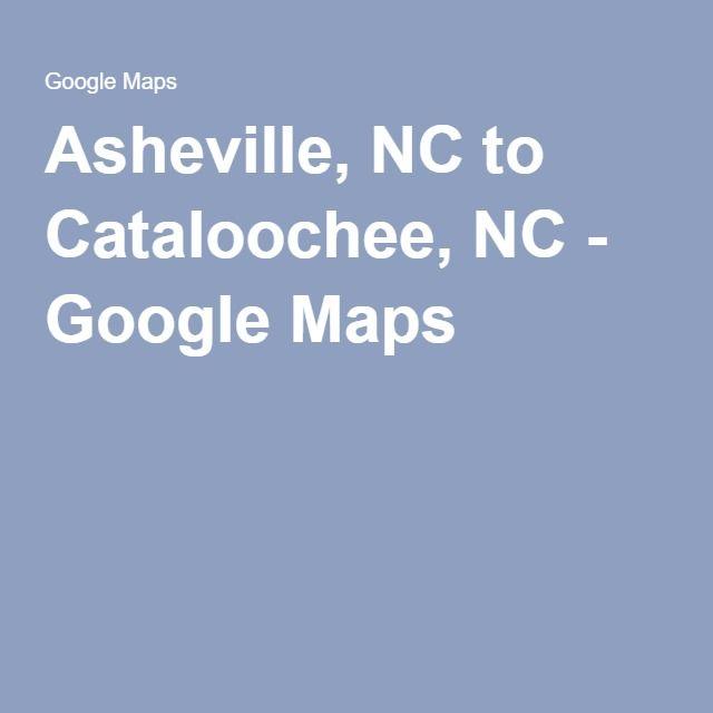 Asheville, NC to Cataloochee, NC - Google Maps