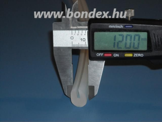 Fedéltömítés szilikonból pálinkafőzőhöz 2 mm peremhez