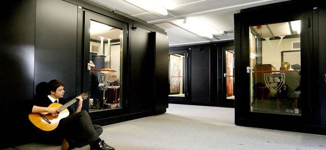 Bedstone College Music Department Recording Studio