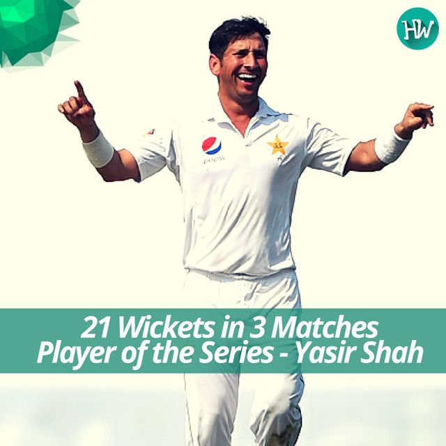 Yasir Shah is having the time of his life. Another series, another amazing performance. #PAKvWI #PAK #WI #cricket