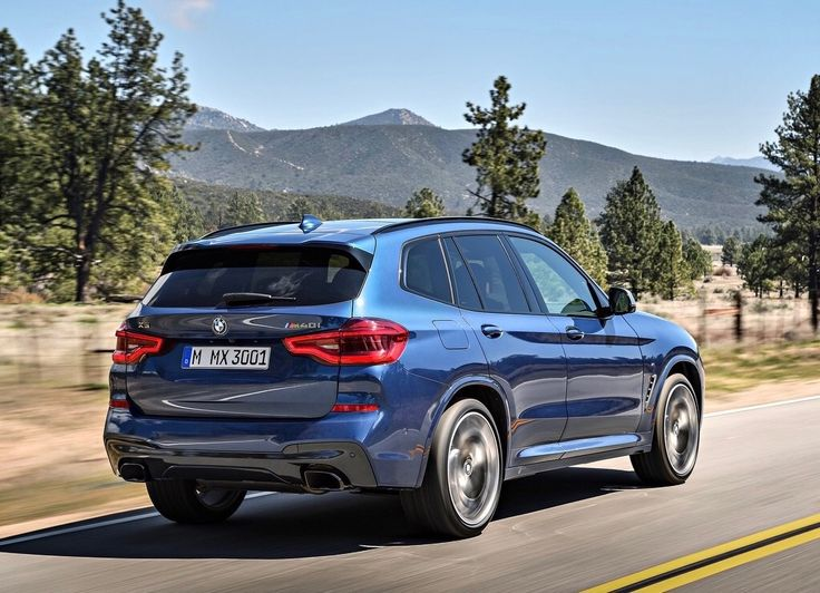 The M Sport Package focuses its attentions on the dynamic prowess of the all-new BMW X3 with the M Aerodynamic kit (front apron with larger air intakes, side skirt trim, and a diffusor-style rear apron). For customers seeking the most dynamic BMW X3, M Double-Spoke 20-inch Wheels with Mixed Performance Run Flat Tires are available as an upgrade option. The interior includes a new M Sport leather steering wheel, M door sill finishers and a SensaTec upholstered dashboard.
