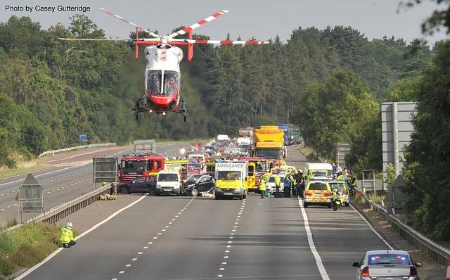 Herts Air Ambulance by EMS Flight Crew, via Flickr HEMS