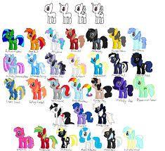 25 best ideas about my little pony names on pinterest