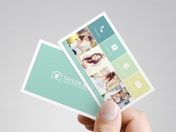 Examples of Social Media Icons - on business cards