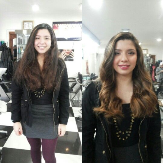 Color corte peinado y maquillaje