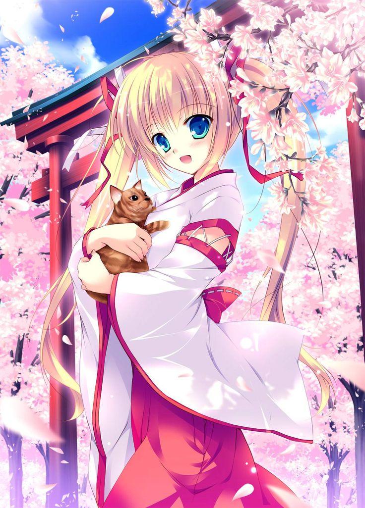 anime+girl | cute blonde anime girl, cute blonde anime ...