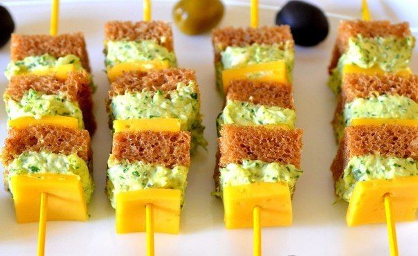 10 IDEAS FOR CANAPÉS ON SKEWERS | Easy recipes.