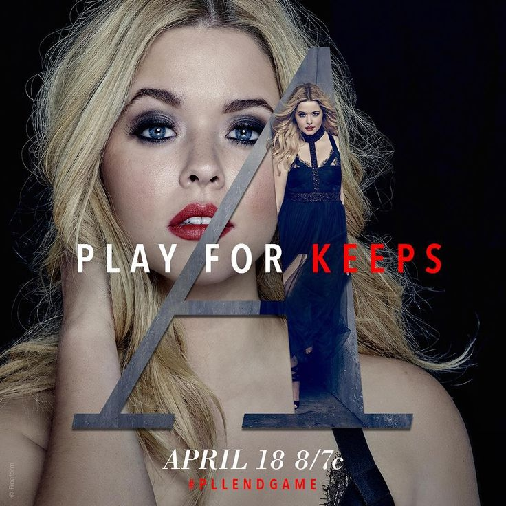 "11.9k Likes, 113 Comments - Pretty Little Liars (@prettylittleliars) on Instagram: ""Play for keeps. #PLLEndGame"""