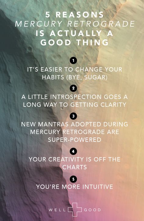 Why Mercury retrograde can actually be a good thing