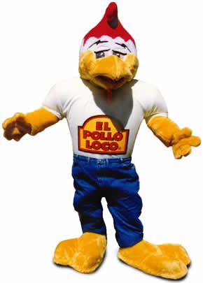 """Brad Pitt trabajó disfrazado de un pollo gigante para la cadena de restaurantes """"El Pollo Loco"""""""