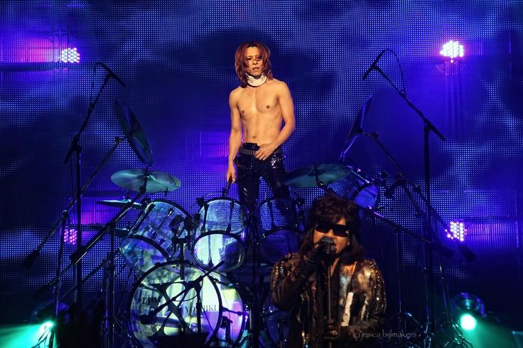 X-Japan . Yoshiki . Drummer