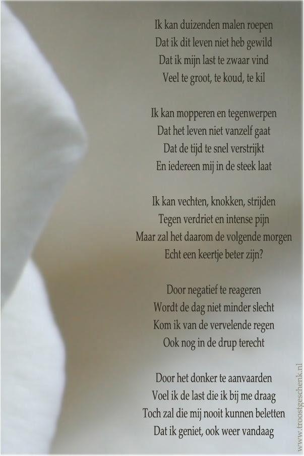 In de weerstand #gedicht www.troostgeschenk.nl