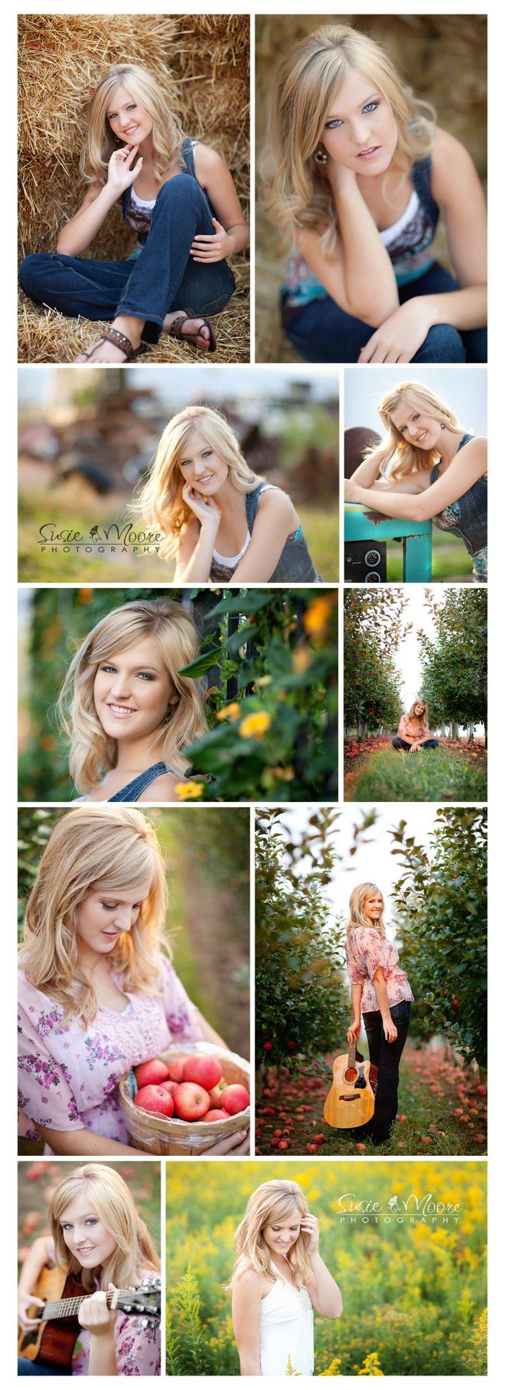 susie moore photography - senior girl