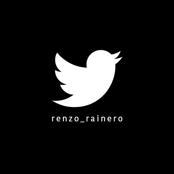¡Seguinos en #Twitter!  https://twitter.com/Renzo_Rainero