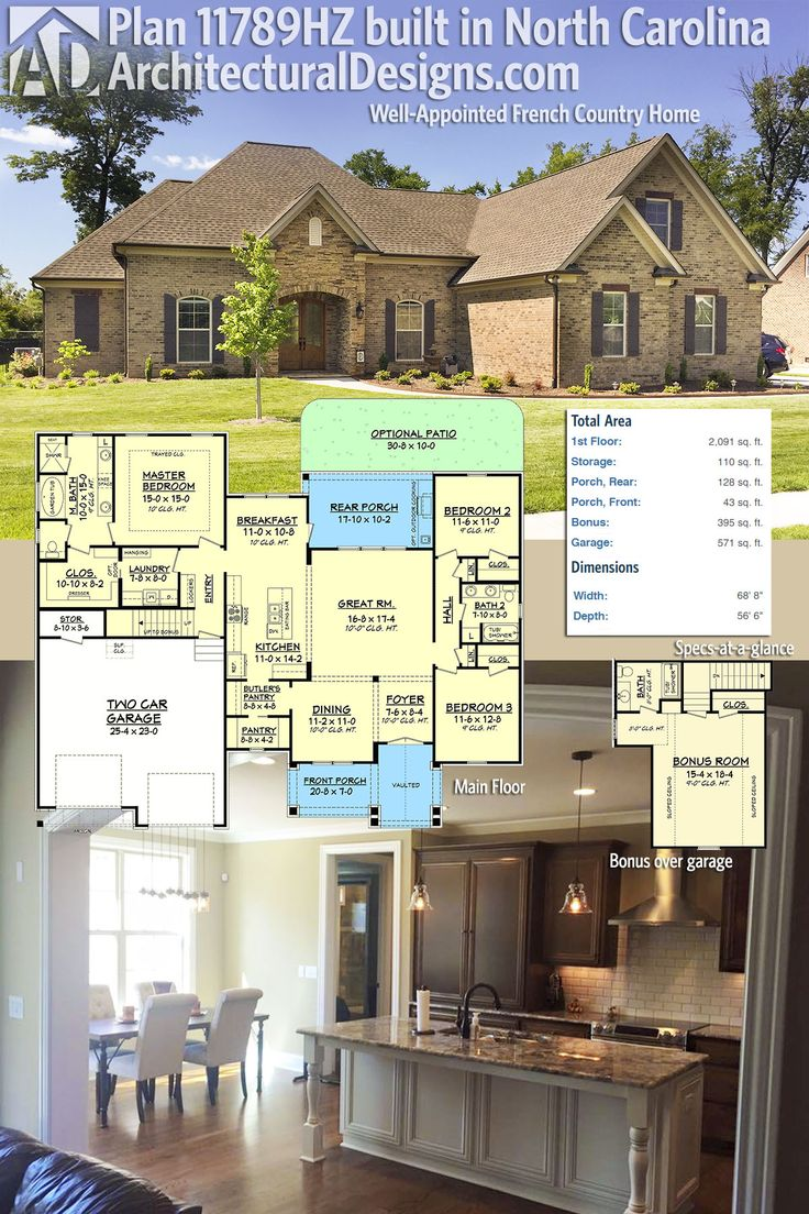 408 best images about house plans with stories on for Carolina plan room
