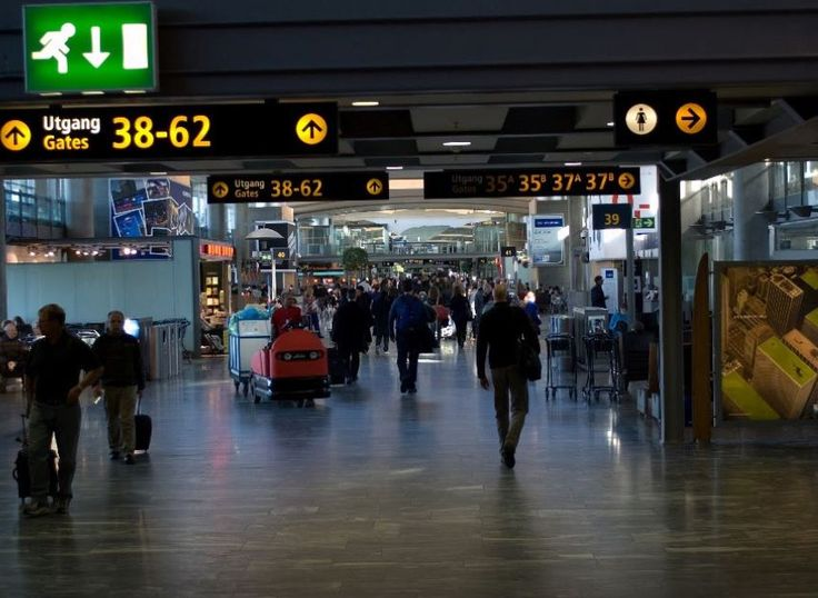 Oslo Norway Gardermoen Airport Auctions (OSL), baggage auction location information, unclaimed baggage locations  inside the airport