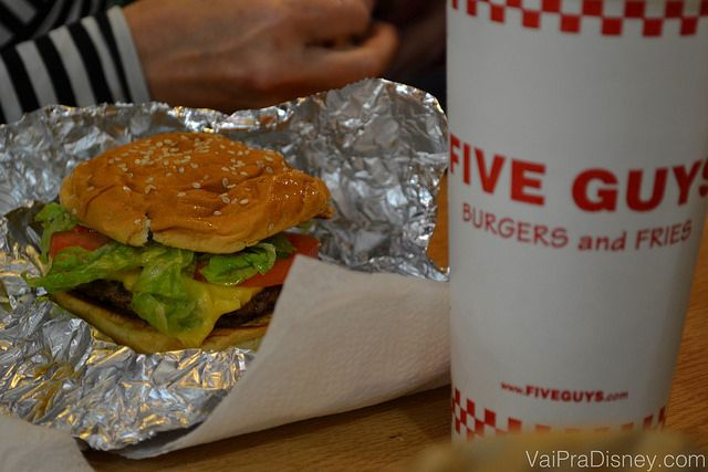Five Guys: para os apaixonados por cheeseburger