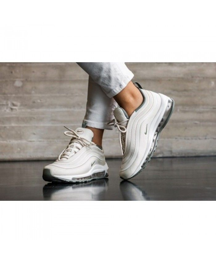 af1d93d7b1 Womens Nike Air Max 97 Ultra 17 Light Bone Trainer | womens-nike-air ...