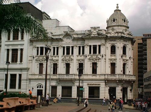 Caicedo Plaza. Cali, Colombia