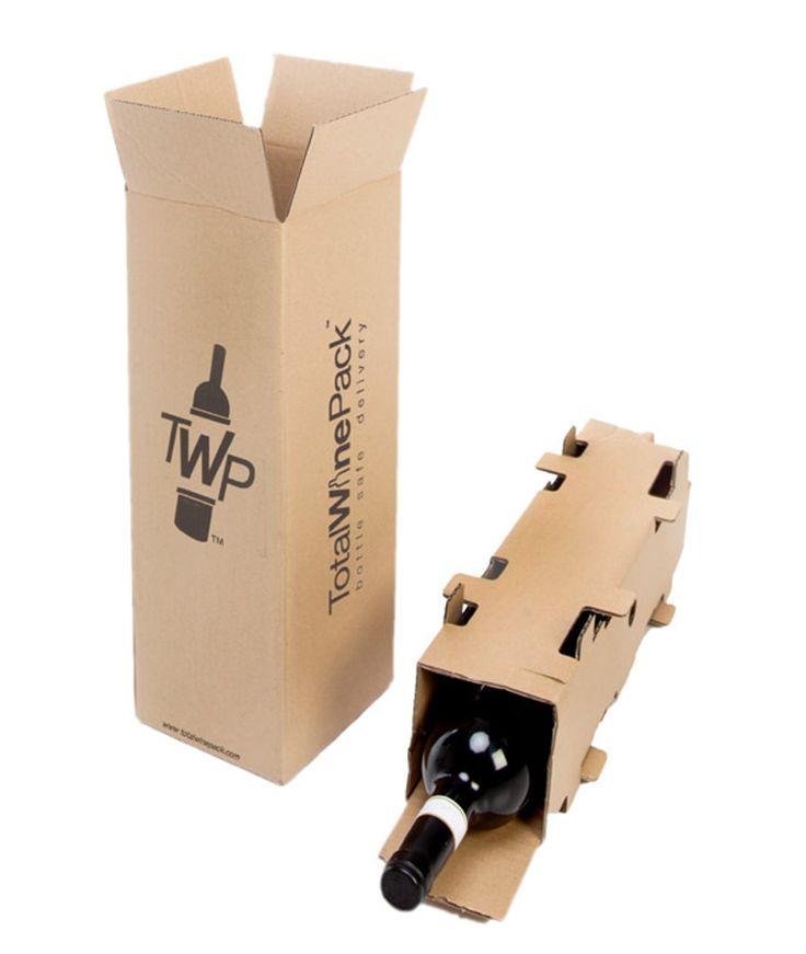 TotalWinePack является новой упаковкой из гофрированного картона, созданной для безопасной транспортировки бутылок вина или шампанского. Упаковка состоит из простых четырехклапанных коробок и вкладышей для бутылок. В один вкладыш помещается одна бутылка, а размеры коробок соответствуют количеству коробок: 1, 2, 3, 6 или 12.  Коробки и вкладыши изготавливаются из трехслойного гофрокартона, на коробки нанесена одноцветная печать.  http://am.antech.ru/m481