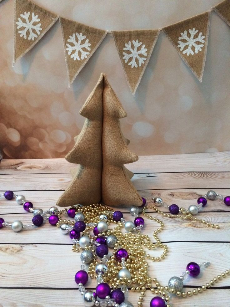 A personal favorite from my Etsy shop https://www.etsy.com/listing/246966585/burlap-christmas-tree-soft-stuffed-table