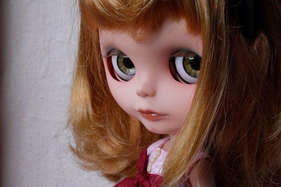 Ojos realistas para blythe marrones verdosos por DreamsOfBlythe