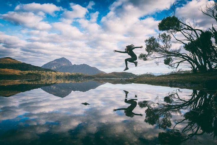 Jumping #MtRugby at the @ParavionTAS Southwest Wilderness Camp @Tasmania credit goes to Matt Glastonbury https://twitter.com/mgglastonbury