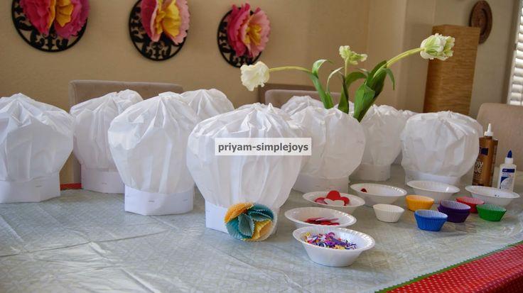 SimpleJoys: DIY Paper Chef Hats