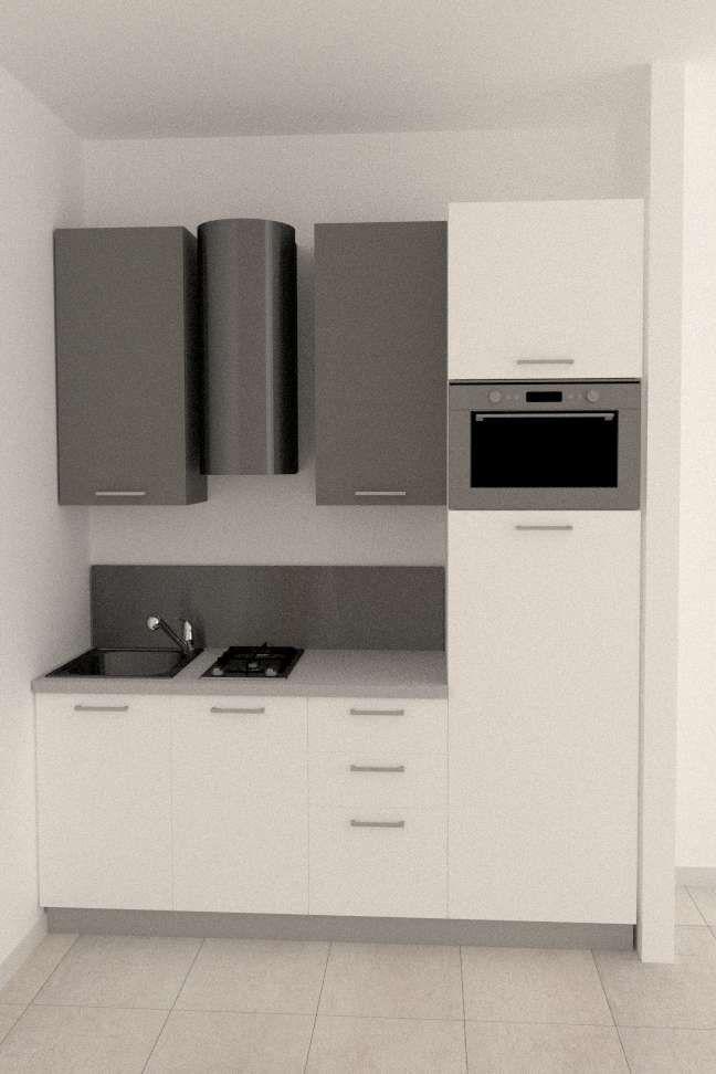 Arredare un cucinotto   Cucina appartamento piccolo ...