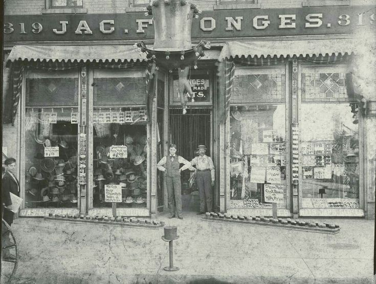 J F Donges, gloves and hats. In business 129 years on 3rd and State. From Danny Salva