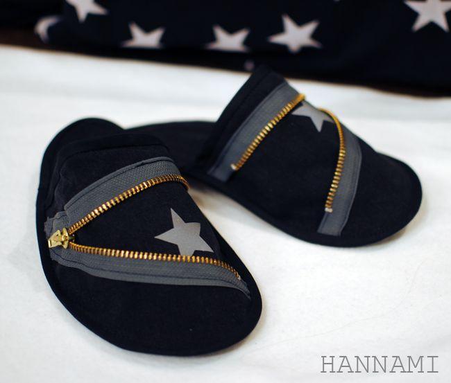 Kylpy-/vierastossujen ohje, osa 2: ompelu Tutorial for sewing slippers