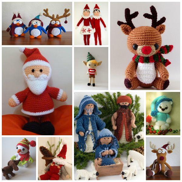 Amigurumis Navidad Crochet : Mejores im�genes sobre navidad a crochet en pinterest
