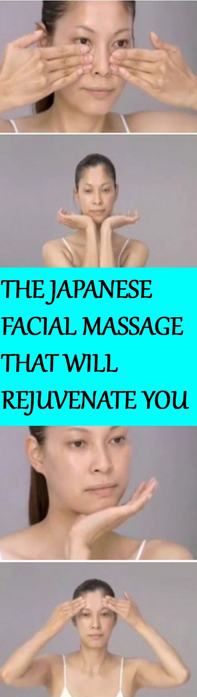 THE MIRACULOUS JAPANESE FACIAL MASSAGE THAT WILL MAKE YOU LOOK TEN YEARS YOUNGER
