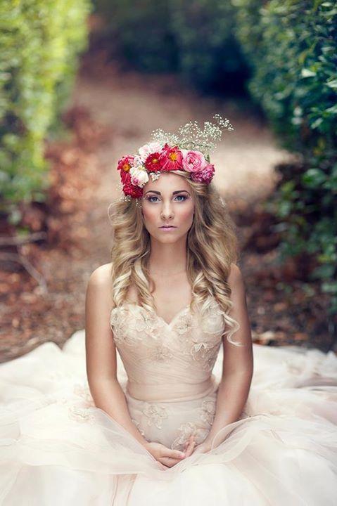 Floral crown...