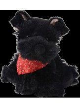 obrázek BABY ELVIS pejsek černý, malý (15 cm)