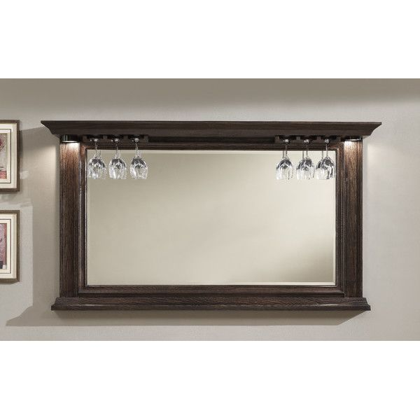 American Heritage Riviera Bar Mirror & Reviews | Wayfair