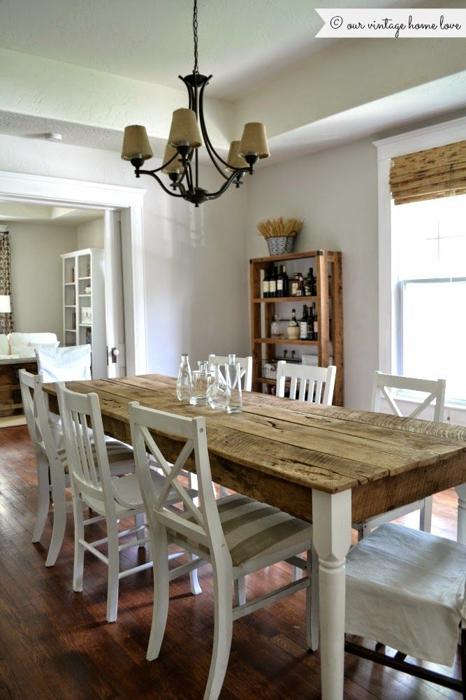 This House Will Be My Inspiration For Decorating Our Next I Love Nearly Everything Vintage Dining TablesFarmhouse