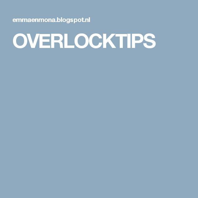 OVERLOCKTIPS