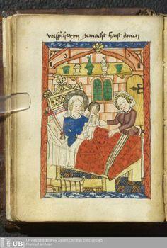 50 [24v] - Ms. Praed. 169 (Ausst. 37) - Deutsch-Lateinisches Gebetbuch - Page - Mittelalterliche Handschriften - Digitale SammlungenMittelrhein, [um 1490]