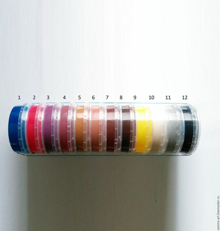 Купить Краска для уреза KendaFarben Orly (глянцевая, 100мл) - краска для кожи, краска для урезов