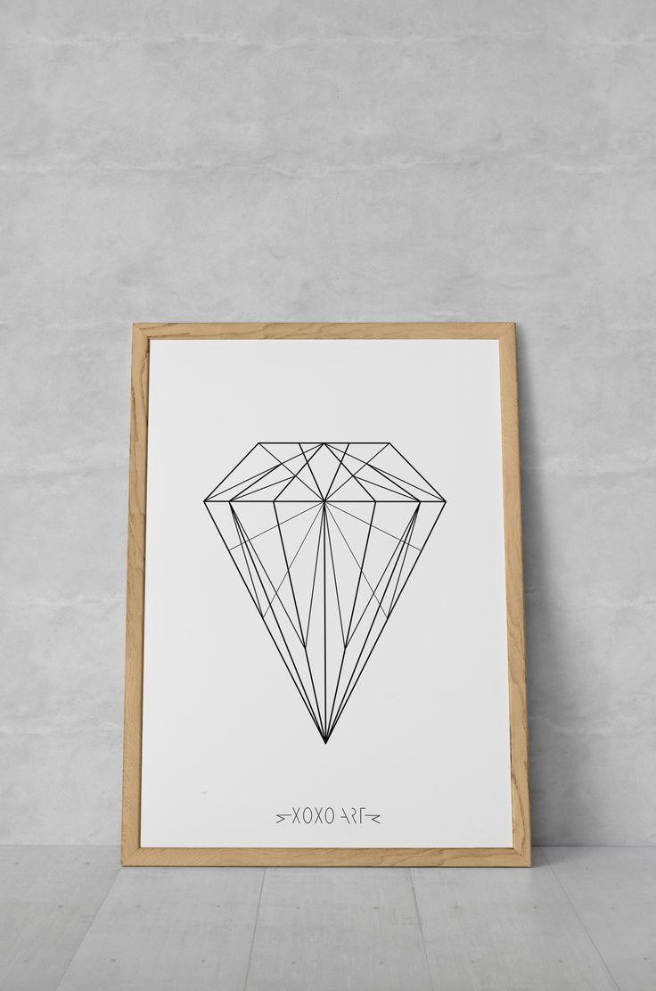 Diamond from www.xoxoart.dk xoxoart