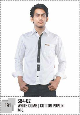 Grosir Baju Murah Bandung   Supplier Baju Murah Online: Kemeja Pria 584-02