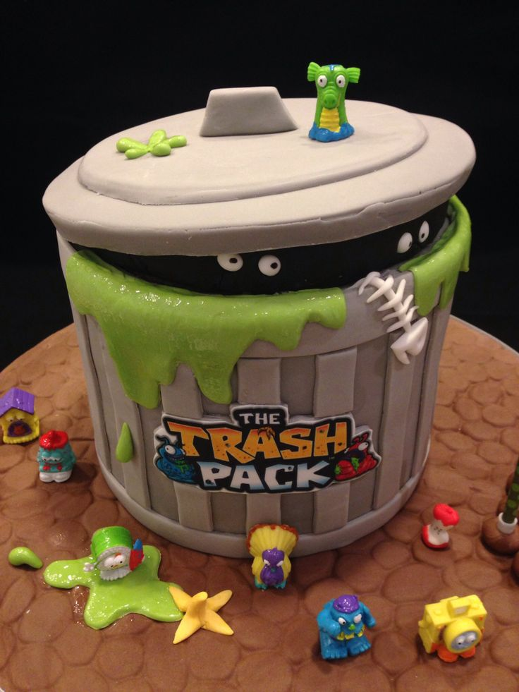 - The Trash Pack cake